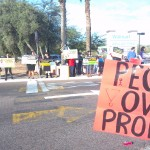 Protest against Walmart. Please share