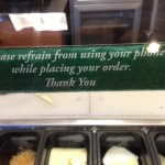 As a retail employee who sees this regularly? it's good to see Subway being the first to post it.