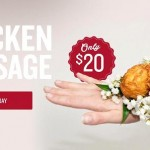 Video: KFC debuts chicken drumstick corsage…no, really!
