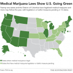This Map Shows Just How Quickly America Has Embraced Retail Marijuana