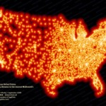 Every McDonalds In The US Mapped, frightening!