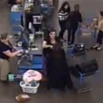 Video shows woman attack Walmart clerk with scissors