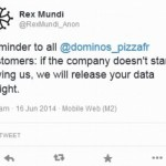 Hackers demand £24,000 from Domino's Pizza in return for stolen passwords and email addresses