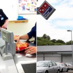 Domino's Pizza staff pictured buying 59p Aldi potato wedges to sell as their own for £3.49