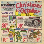 Let's Celebrate Christmas In October 1989 With Kay-Bee Toys