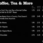 THIS IS WHAT HONEST STARBUCKS MENUS WOULD LOOK LIKE