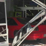 Man Gets Fired and Drives Car Into Walmart Store