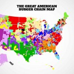 New map calculates Americas 16 most popular burger chains in order