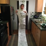 Guy Dresses Up As A CVS Receipt, Wins Halloween.