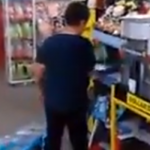Angry Little Kid Trashes Dollar Store