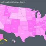 Which US state tips the most? and which tips the least