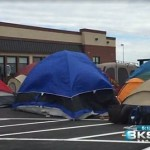 Chick-fil-a superfans camp out in -10F to win a year's worth of free chicken